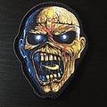 Iron Maiden - Patch - Piece Of Mind Eddie Head Patch