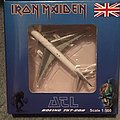 Iron Maiden Ed Force One Final Frontier tour model plane.