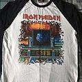 Iron Maiden Somewhere On Tour 86/87 reissue baseball top