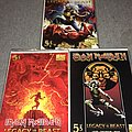 Iron Maiden Legacy Of The Beast No 5 all three covers