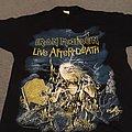 Iron Maiden Live After Death original 1985 t-shirt