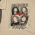 Metallica And Justice For All original t-shirt