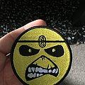 Iron Maiden - Patch - Iron maiden yellow Eddie face.