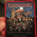 Iron Maiden - Patch - Iron Maiden Nights of the dead patch