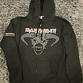 Iron Maiden, Legacy of the Beast tour zip up hoodie Hooded Top
