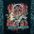 Slayer, Hell Awaits back patch