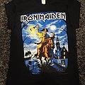 Iron Maiden, 2016 tour Mansfield, MA shirt
