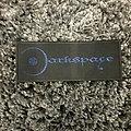 Darkspace metallic blue patch