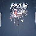 Razor - TShirt or Longsleeve - Razor Violent Restitution shirt