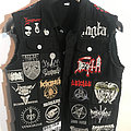 Battle jacket inspired by black and death metal