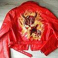 Mercyful Fate - Battle Jacket - mercyful fate don't break the oath handpainted red pu biker jacket