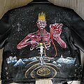 Iron Maiden - Battle Jacket - handpainted iron maiden seventh son of a seventh son