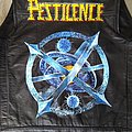 Pestilence - Battle Jacket - Pestilence Testimony of the Ancients Sphere handpainted