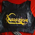 handpainted Queensryche ladies top Battle Jacket