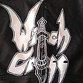 Witch Cross - Battle Jacket - diy studded handpainted witch cross jacket