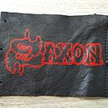 handpainted Saxon patch or wrist bracelet