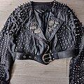 TEITANBLOOD - Battle Jacket - my diy handstudded handpainted Teitanblood black metal punk jacket