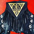 my own handpainted urfaust/the devils blood voodoo dust sigil jacket