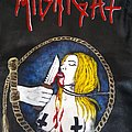 Lust filth and sleaze Midnight handpainted leather jacket