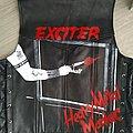 Exciter - Battle Jacket - handpainted Exciter heavy metal maniac vest