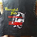King Diamond Melissa bootleg handpainted leather jacket