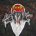 my handpainted Tank Filth hounds of Hades '80s leather jacket