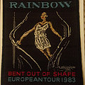 Rainbow - 1983 Bent Out Of Shape European tour embroidered cloth patch