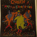 Queen - 1986 Magic In Europe tour embroidered cloth patch