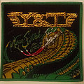Y & T - Mean Streak tour embroidered cloth patch