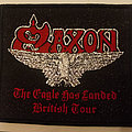 Saxon - The Eagle Has Landed British tour embroidered cloth patch
