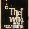 The Who - maximum R & B screenprinted cloth patch