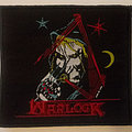 Warlock - band logo embroidered cloth patch