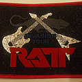 Ratt - Patch - Ratt - Invasion tour embroidered cloth patch