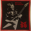 Michael Schenker Group - embroidered cloth patch