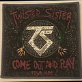 Twisted Sister - 1986 Come Out And Play tour embroidered cloth patch