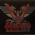 Hawkwind - band logo embroidered cloth patch