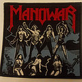 Manowar - Fighting The World embroidered cloth patch