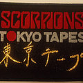 Scorpions - Patch - Scorpions - Tokyo Tapes embroidered cloth patch