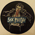 Sex Pistols - Sid Vicious embroidered round cloth patch