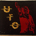 UFO - Patch - UFO - band logo and Phil Mogg embroidered cloth patch