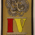 Whitesnake - Patch - Whitesnake - Donington Campaign 4 embroidered cloth patch