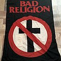Bad Religion - Cross Buster Flag from 1995 Other Collectable
