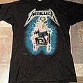 Metallica - Electric Chair/Metal Up Your Ass Shirt (1987)