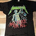 Metallica - And Justice For All (Tour Shirt '88)