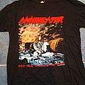 Annihilator - World On Fire (Original Tour Shirt 1993)