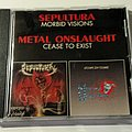 Sepultura / Metal Onslaught - Morbid Visions / Cease To Exist (Split CD 1989)