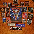 MOTÖRHEAD Patch Collection ( so far )  for the ultimate Tribute Vest