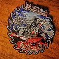 JUDAS PRIEST - PAINKILLER  Saw-Blade-Shape woven Patch