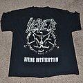 Slayer Divine Intourvention Tour Shirt