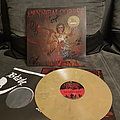 Cannibal corpse signed golden LP